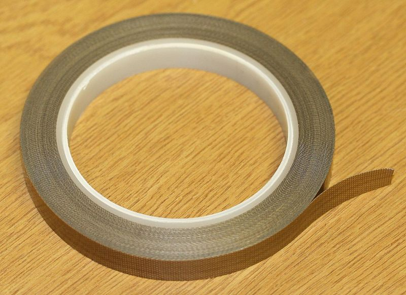 12mm x 15mtrs 10thou Self Wound Adhesive Tape