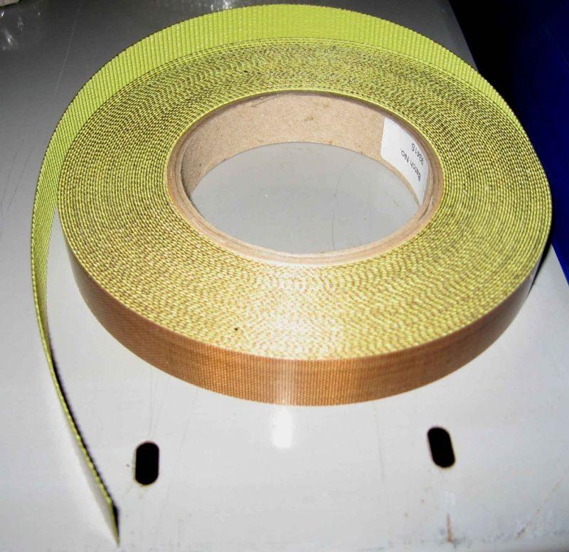 20mm X 30mtrs x 10thou Self Adhesive PTFE Glass Tape