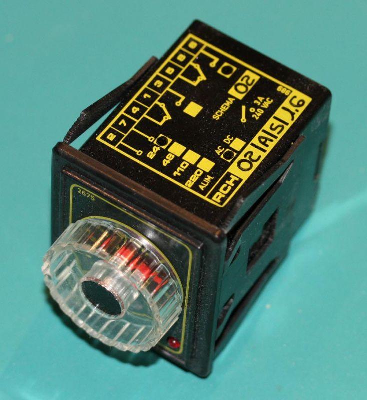 Minipack 24VAC Timer FE420051 RCH02AS1.6 NOS