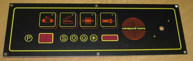 Minipack Modular 50/70 Digit Complete Control Panel S0190012