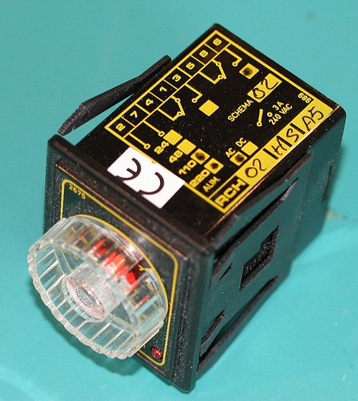Minipack Shrink Timer Part Number RCH02HSA5