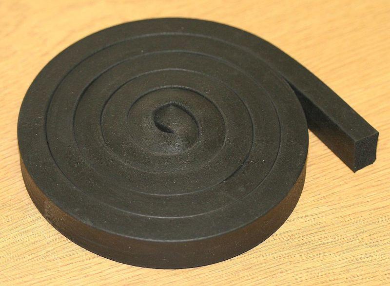 Neoprene Rubber For Sealing Arm 1.2 Mtr's
