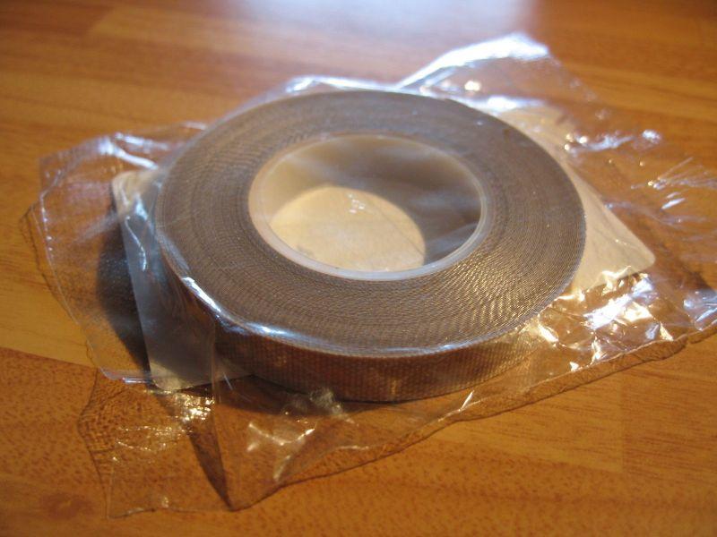 PTFE Glass Tape 10mm x 10 Mtrs x 10 Thou Self Wound