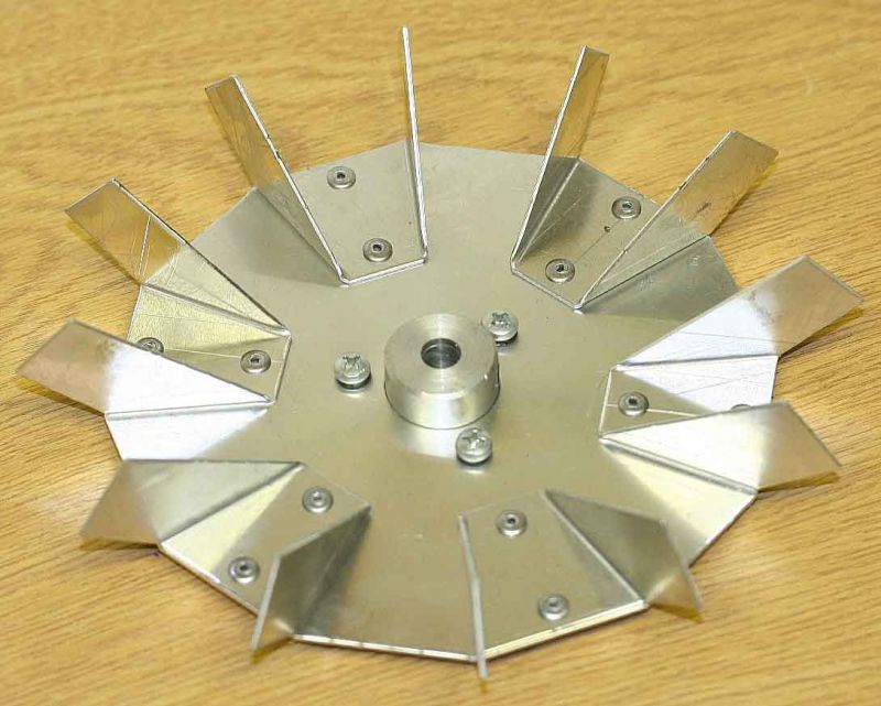 Synthesis 760 Aluminium Fan Part Number FM410001